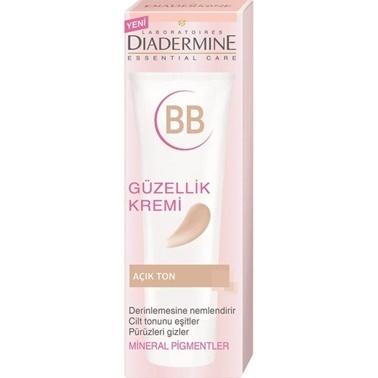 Diadermine  Essential Care BB Güzellik Kremi Açık Ton 50ml Renksiz